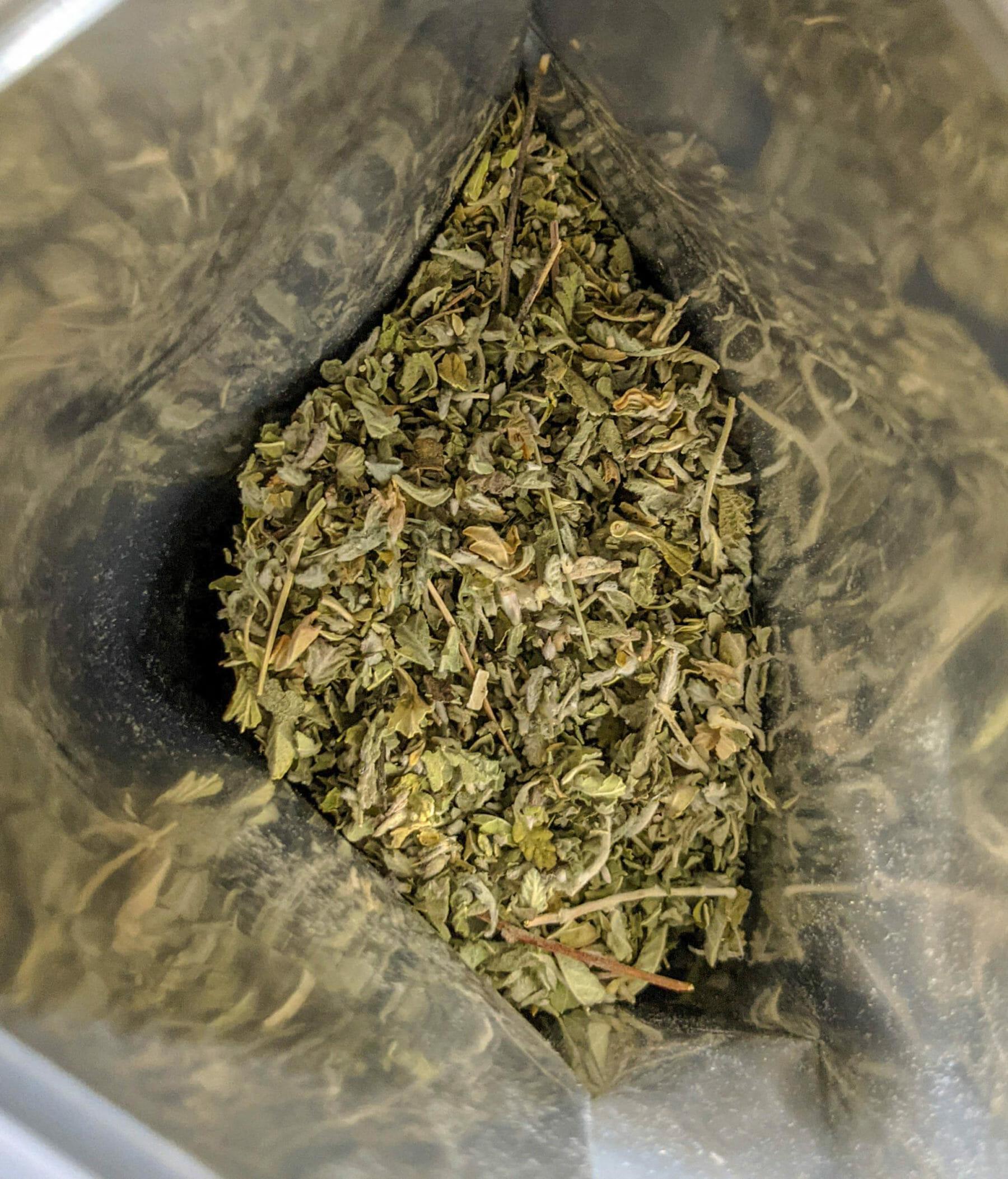 damiana inside bag