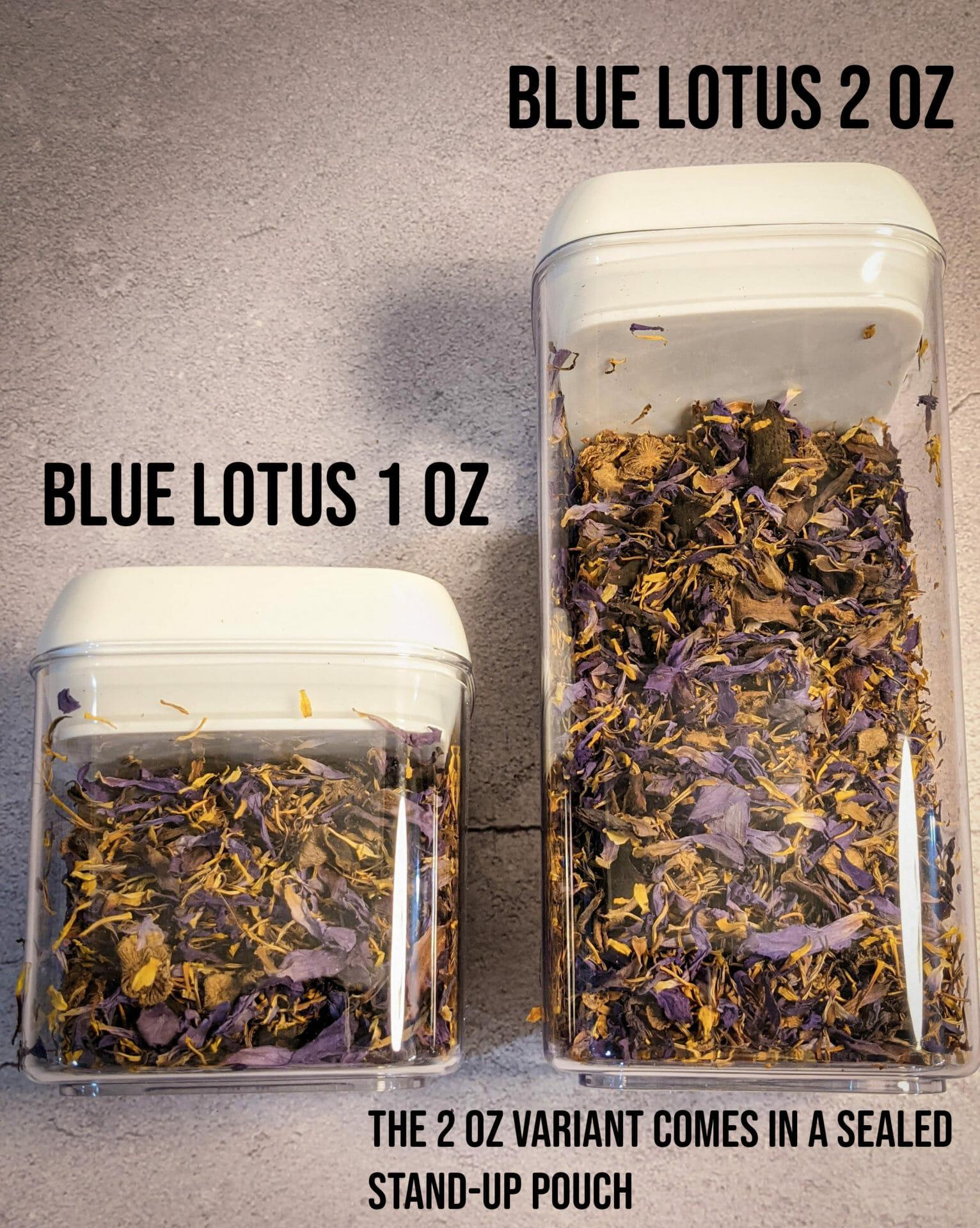Blue lotus 1-2oz - 2000w