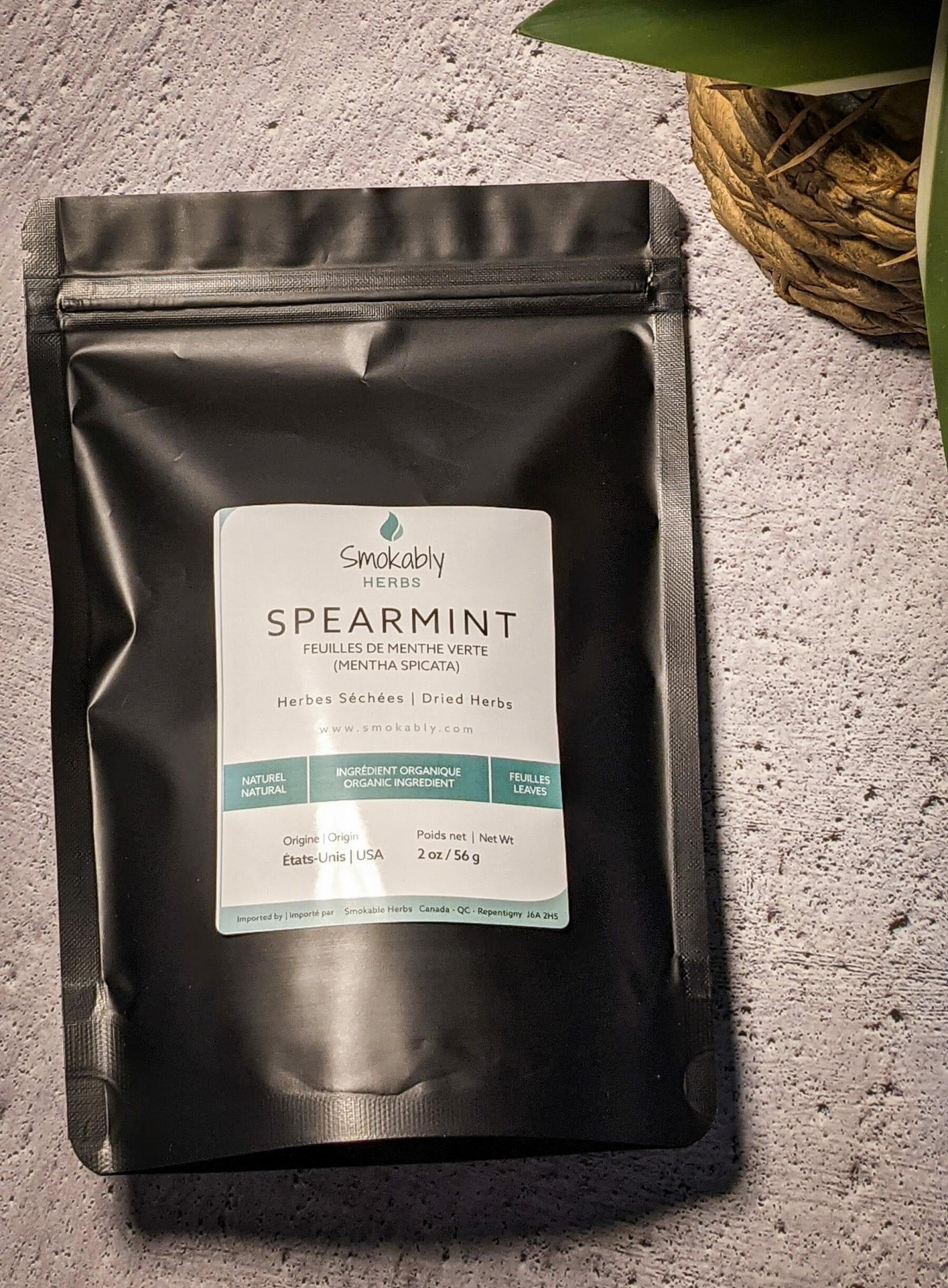 spearmint dried herbs