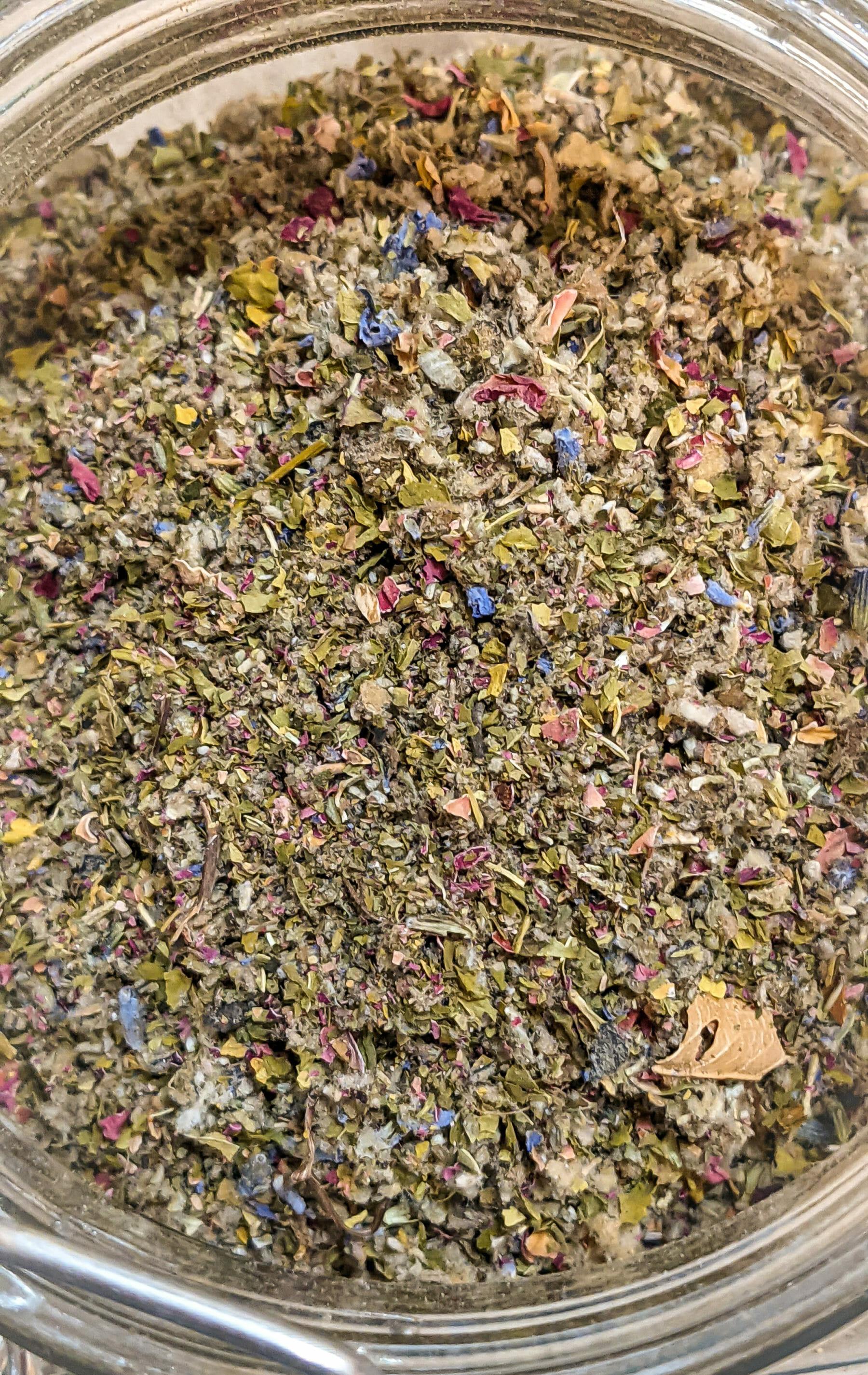 Organic Herbal Blend from Smokably - Mullein, Skullcap, Damiana, Lavender & Rose